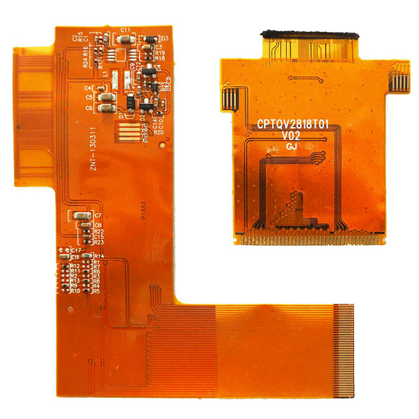 flexible PCB with gold finger