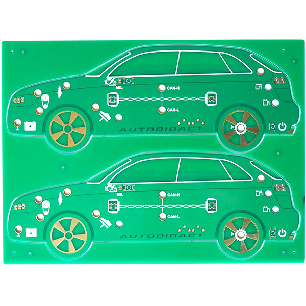 gold plating PCB with CEM-3 material